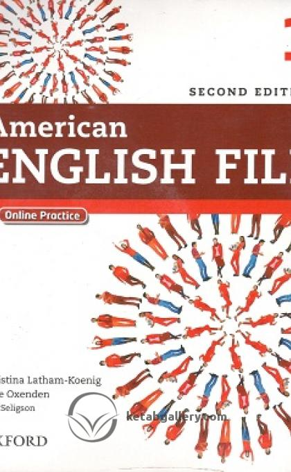 American English File 2nd 1 SB+WB+2CD+DVD