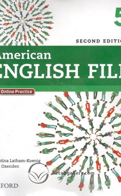 American English File 2nd 5 SB+WB+2CD+DVD